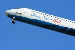 HS-OMD MD-82 von einen zwei gehen Fluglinie Lizenzfreies Stockbild