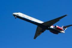 HS-OMD MD-82 von einen zwei gehen Fluglinie Lizenzfreie Stockfotografie