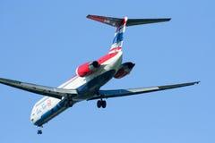 HS-OMD MD-82 von einen zwei gehen Fluglinie Lizenzfreie Stockbilder