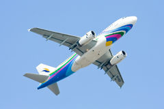 HS-PGZ Airbus A319-100 of Bangkokairway Royalty Free Stock Images