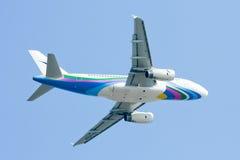 HS-PGZ Airbus A319-100 de Bangkokairway Foto de Stock