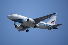 HS-PPA空中客车Bangkokairway A319-100  库存照片