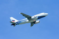 HS-PPA Airbus A319-100 de Bangkokairway Fotografia de Stock Royalty Free