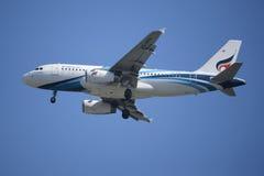 HS-PPA Airbus A319-100 de Bangkokairway Imagem de Stock