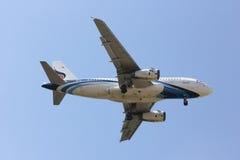 HS-PPB A319-100 of Bangkok airway. stock photo