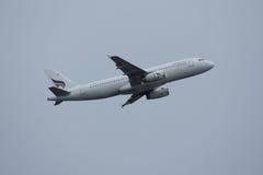 HS-PPH空中客车曼谷空中航线A320-200  免版税库存图片