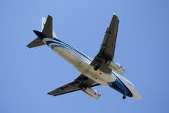 HS-PPM airbus A319-100 Bangkokairway Στοκ φωτογραφίες με δικαίωμα ελεύθερης χρήσης