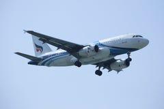 HS-PPM Airbus A319-100 of Bangkokairway. Stock Images