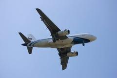 HS-PPM Airbus A319-100 de Bangkokairway Fotos de Stock