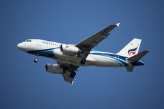 HS-PPN A319-100 of Bangkok airway. Royalty Free Stock Photography