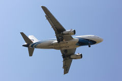 HS-PPN A319-100 da via aérea de Banguecoque Fotos de Stock Royalty Free