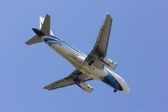 HS-PPN A319-100 da via aérea de Banguecoque Imagem de Stock Royalty Free