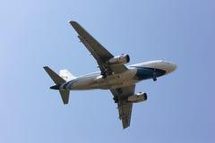 HS-PPN A319-100 da via aérea de Banguecoque Fotografia de Stock Royalty Free