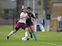 HS Soccer steal Stock Photo
