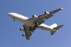 HS-STB Boeing 747-400 de la línea aérea barata de la línea aérea tailandesa de Oriente imagen de archivo libre de regalías