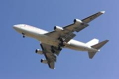 HS-STB Boeing 747-400 Ukierunkowywałam tajlandzkiej linii lotniczej Tania linia lotnicza fotografia royalty free