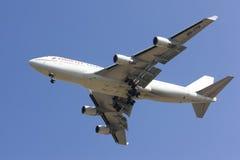 HS-STB Boeing 747-400 Ukierunkowywałam tajlandzkiej linii lotniczej Tania linia lotnicza obrazy royalty free