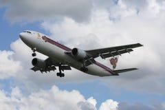 HS-TAA Airbus A300-600 de Thaiairway Imagens de Stock