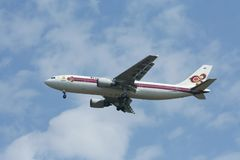 HS-TAA Airbus A300-600 de Thaiairway Foto de Stock Royalty Free