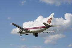 HS-TAA Airbus A300-600 de Thaiairway Imagem de Stock