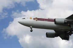 HS-TAA Airbus A300-600 de Thaiairway Imagens de Stock Royalty Free