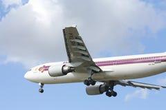 HS-TAA Airbus A300-600 de Thaiairway Fotografia de Stock