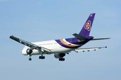 HS-TAE Airbus A300-600 de Thaiairway Fotos de Stock Royalty Free