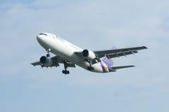 HS-TAE Airbus A300-600 de Thaiairway Foto de Stock Royalty Free