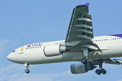 HS-TAE Airbus A300-600 of Thaiairway Stock Image