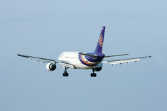 HS-TAE Airbus A300-600 of Thaiairway Royalty Free Stock Photos