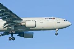HS-TAG Airbus A300-600 de Thaiairway Foto de Stock