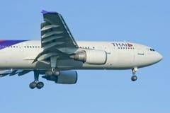 HS-TAG Airbus A300-600 de Thaiairway Fotografia de Stock