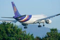 HS-TAG Airbus A300-600 de Thaiairway Imagens de Stock