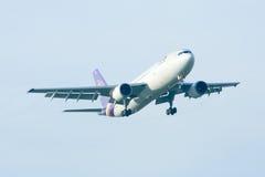 HS-TAG Airbus A300-600 de Thaiairway Foto de Stock Royalty Free