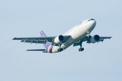 HS-TAG  Airbus A300-600 of Thaiairway Royalty Free Stock Photography