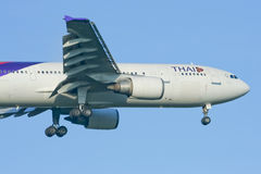 HS-TAG  Airbus A300-600 of Thaiairway Stock Photography