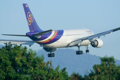 HS-TAG  Airbus A300-600 of Thaiairway Stock Images