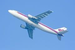HS-TAH Airbus A300-600 de Thaiairway Fotografia de Stock Royalty Free