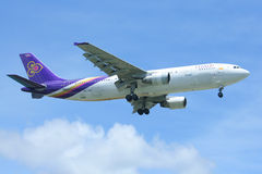 HS-TAK  Airbus A300-600R of Thaiairway Stock Images