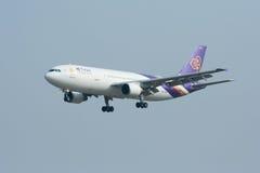 HS-TAO Airbus A300-600 de Thaiairway Fotografia de Stock