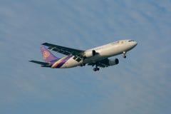 HS-TAO Airbus A300-600 de Thaiairway Fotos de Stock