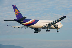HS-TAO Airbus A300-600 of Thaiairway. Stock Images