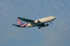 HS-TAO Airbus A300-600 of Thaiairway. Stock Photos