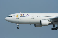 HS-TAO  Airbus A300-600 of Thaiairway Royalty Free Stock Photo