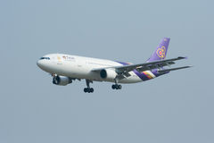 HS-TAO  Airbus A300-600 of Thaiairway Stock Photography
