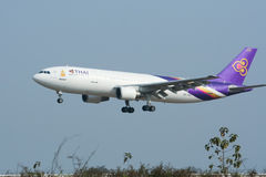 HS-TAO  Airbus A300-600 of Thaiairway Stock Photo