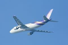 HS-TAP Airbus A300-600 de Thaiairway Imagem de Stock