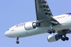 HS-TAS Airbus A300-600R de Thaiairway Imagem de Stock
