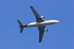 HS-TAT Airbus A300-600R de Thaiairway Fotografia de Stock Royalty Free