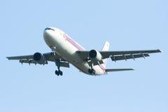 HS-TAW Airbus A300-600R de Thaiairway Fotografia de Stock